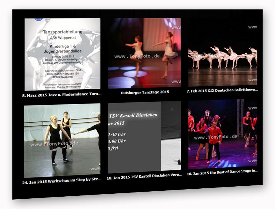 Show und Tanzfotos 2015