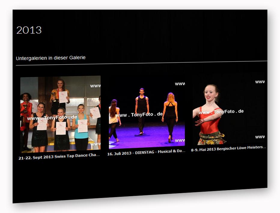 Show und Tanzfotos 2013